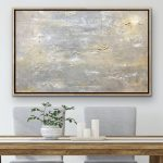 Dreamscape Ed 2 – textured abstract metallic painting