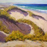 Sand dune paintings