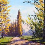 Autumn Poplars Tumut