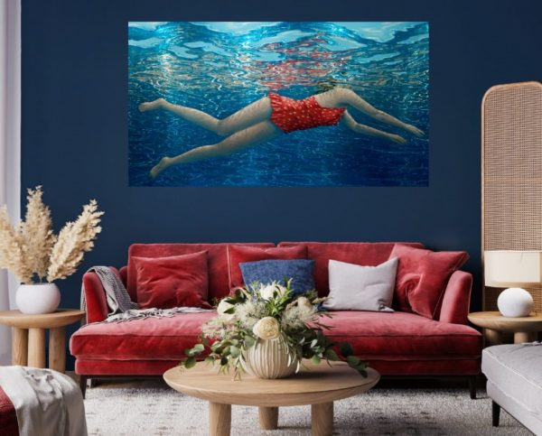 Floating In The Light Ii 90 X 164cm