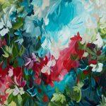 Forbidden Destiny – abstract floral