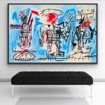 Homage to Basquiat JMB