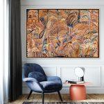 Golden Vista – framed in Oak