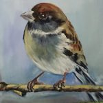 Little Sparrow Sitting all Alone
