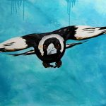 It's Springtime! – Magpie Flying