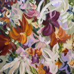 Majestic Garden – abstract floral
