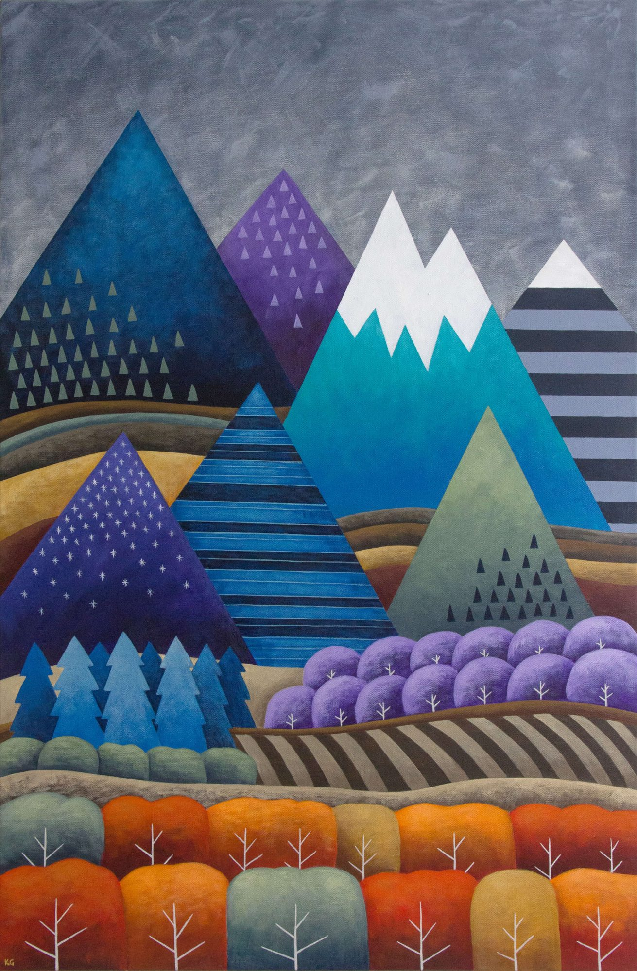 Mountainscape 24×36 Large2