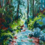 Natures Trail – Small Impressionist Landscape