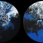 Neptune's World I and II Diptych