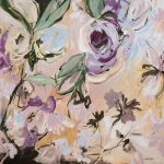 Perfect Moment – Large Abstract Floral