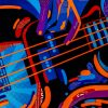 Sue Dowse Electric Guitar Detail