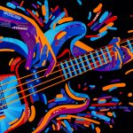 Electric Bass Guitar – Ltd Ed Print