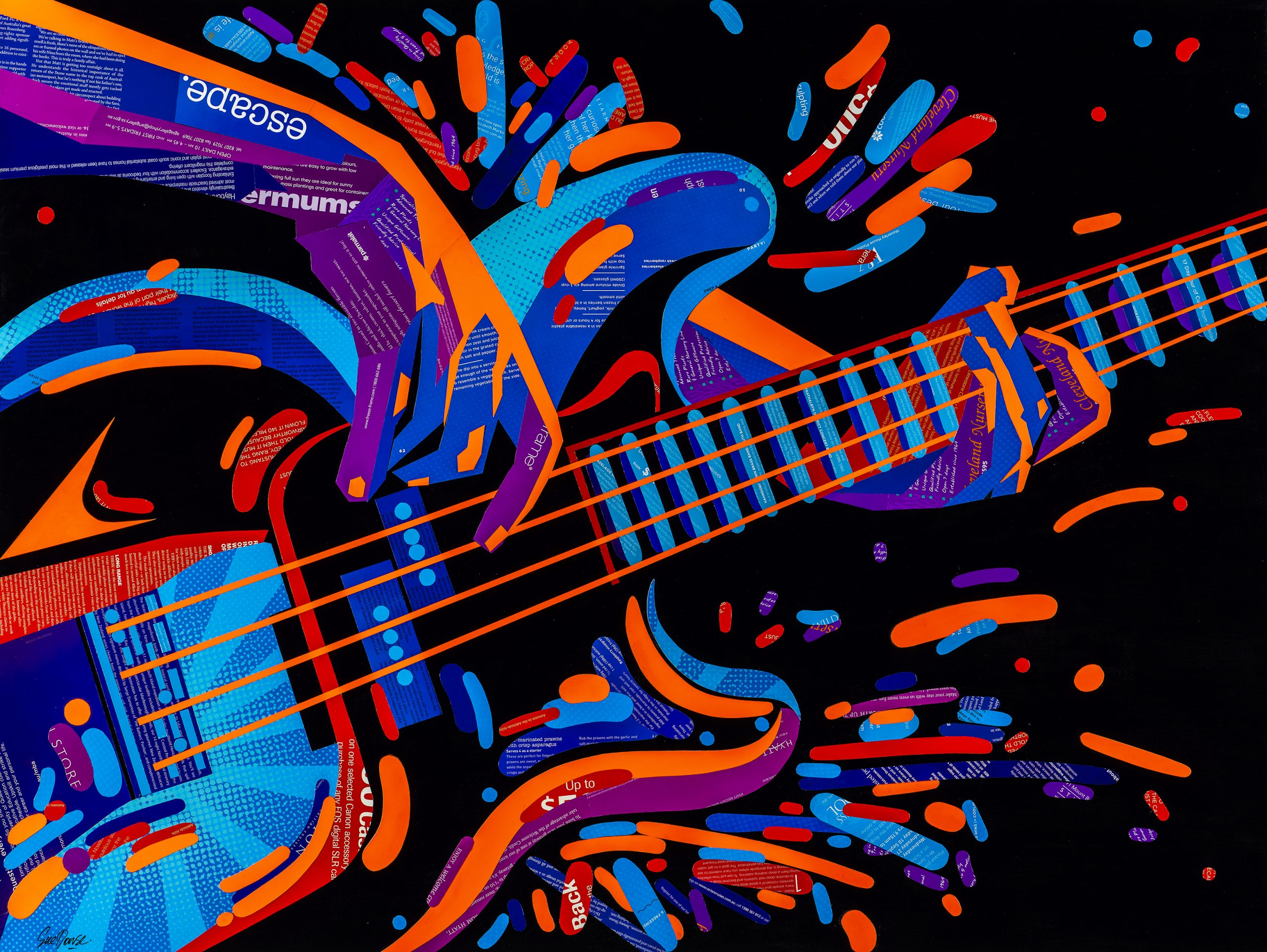 Sue Dowse Electric Guitar Primary