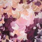 Sun Blushed – Large minimalistic abstract