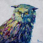 Technicolor owl