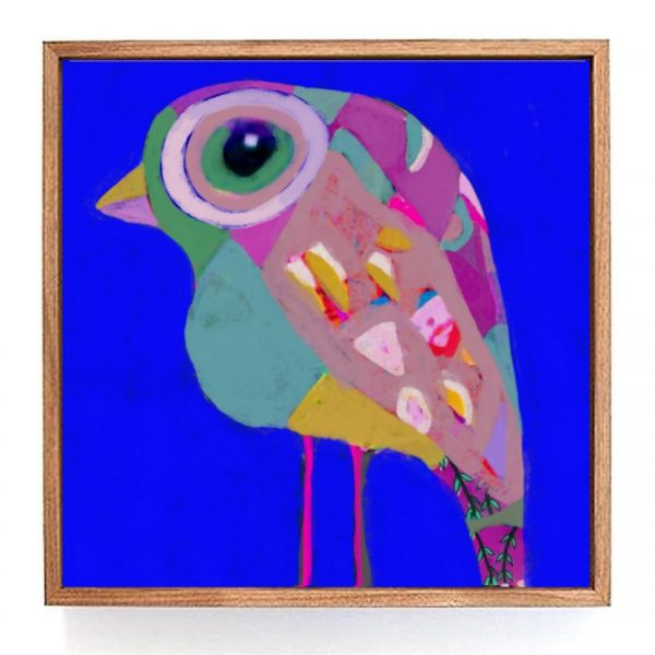 Tabitha Stowe Mr Jumbley Bird Framed