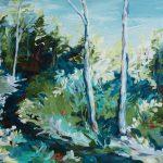 Through the Valley – Impressionist Landscape