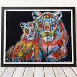 Alyssa and her daughter Hannah were never apart Ltd Ed Giclee Print