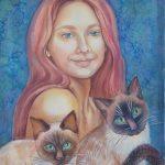 Portrait Cats Lover