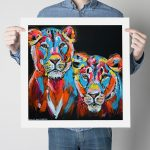They Were Lioness Sisters Strong and Proud Ltd Ed Giclee Print