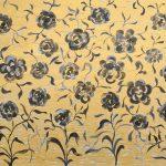 Golden Chinoiserie Flower