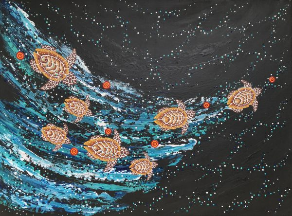 Anthony Walker Milbi Designs Seven Sister Song Cycle 90 X 120 Oct 2021 Bt Res