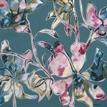 Blossoming Jewels – abstract floral