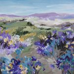 Countryside Flowers – Impressionist Landscape