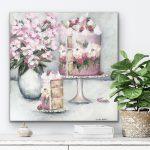 Strawberry Magnolia Layer Cake