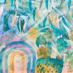 Prickly Rainbow – Framed