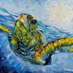 Underwater Turtle – Ltd Ed Print