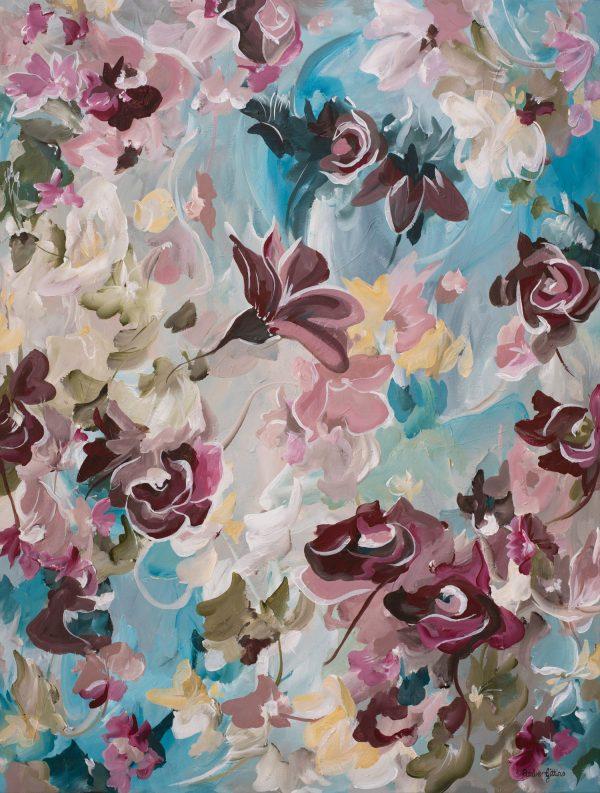 Vintage Roses By Amber Gittins