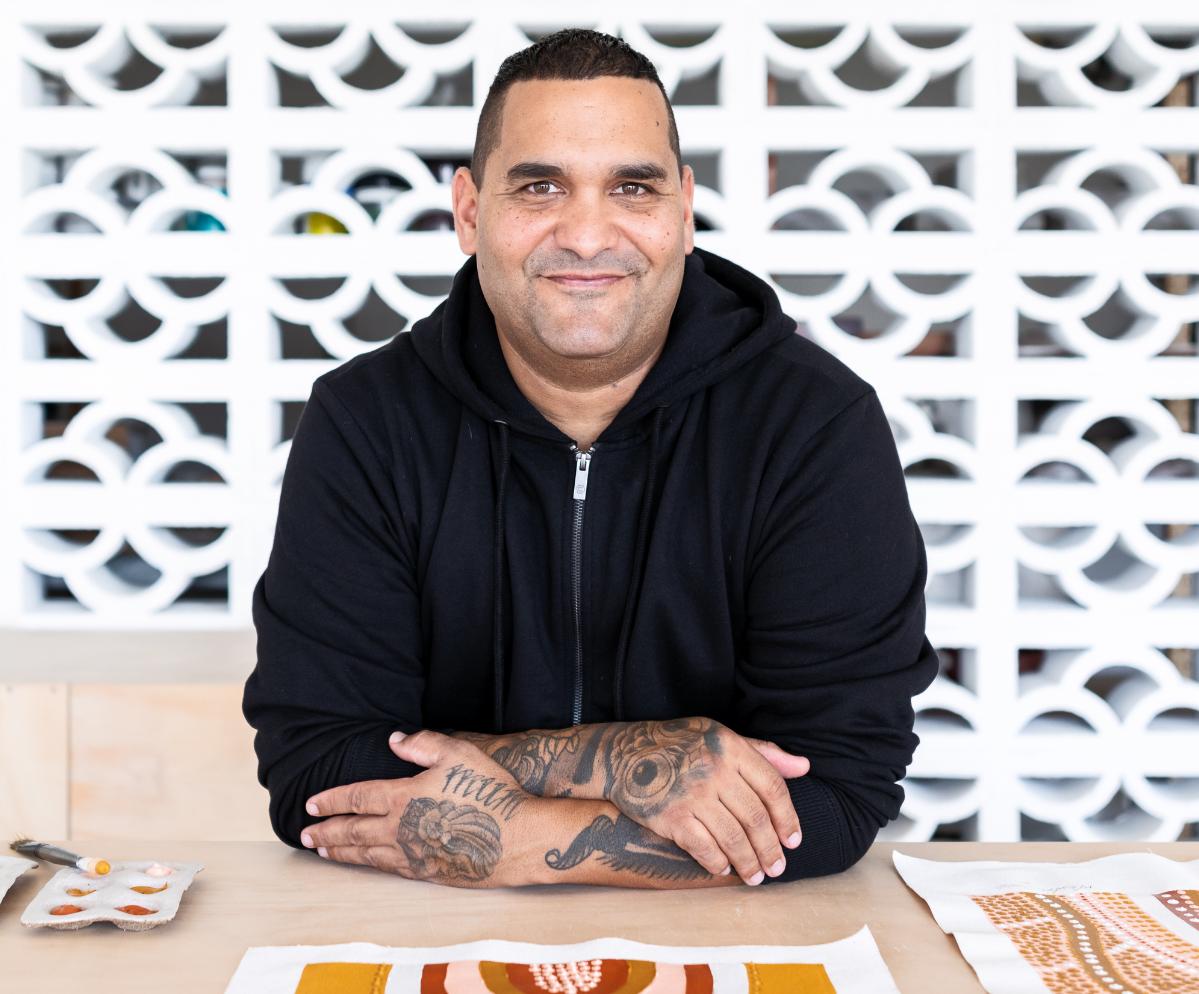 Brad Turner Artist Art Lovers Australia Aboriginal Paintings For Sale Best Place To Buy Art Online