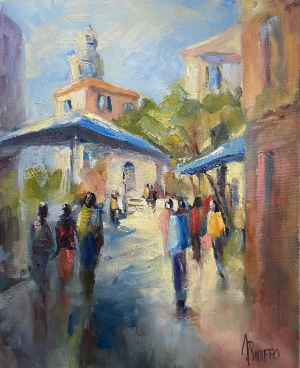 Urban Scene In Spain 1